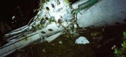 فاجعه تلخ برای فوتبال؛ سقوط هواپیمای حامل بازیکنان یکی از تیم های باشگاهی برزیل در آسمان کلمبیا
