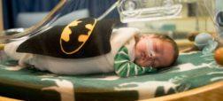 اقدام جالب پرستاران برای پوشاندن لباس هایی با طرح ابرقهرمان ها به تن نوزادان نارس