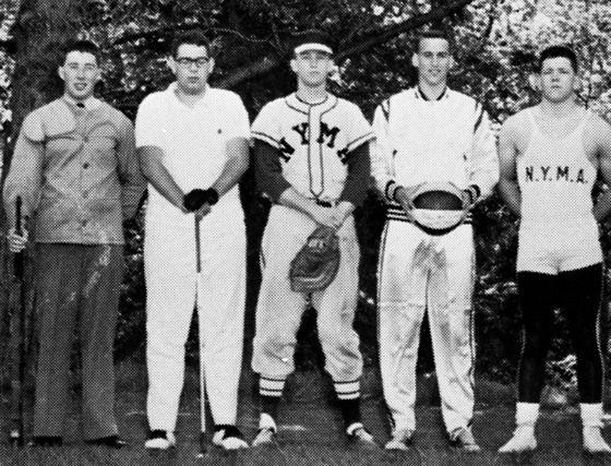 ترامپ در سال آخر آکادمی ارتش نیویورک در سال 1964