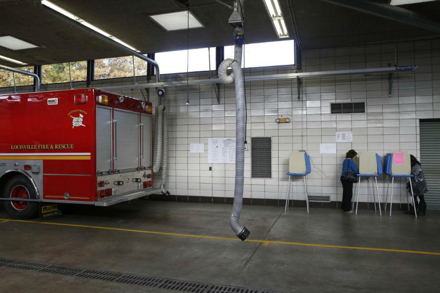 ایستگاه آتش نشانی - لوئی ویه، کنتاکی