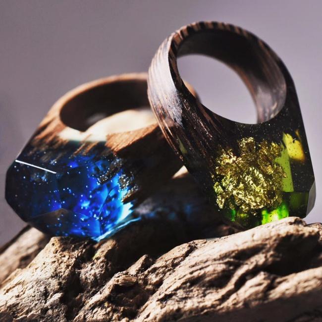 نمونه هایی از زیباترین انگشترهای جهان؛ تلفیقی از ترکیبات جدید، خلاقیت و نبوغ