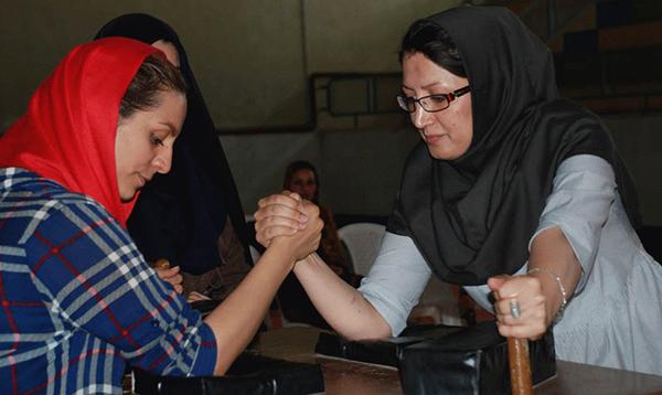 استقبال گسترده بانوان ایرانی از رشته مچ اندازی
