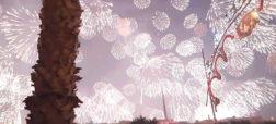 مراسم دیدنی و زیبای آتش بازی در کشور مالت [تماشا کنید]