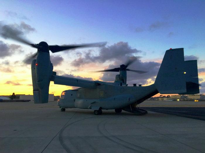 نگاهی به درون هواپیمای «MV-22B» نیروی دریایی آمریکا؛ نیمی هلیکوپتر و نیمی هواپیما