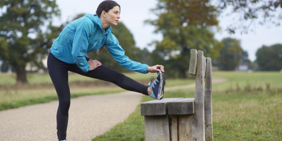 Female Urban Runner