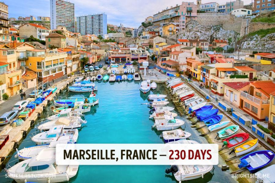 مارسی - فرانسه - 230 روز