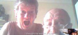 ویدئویی پر مخاطب؛ مردی که هنگام چتربازی و در میانه آسمان با والدین خود تماس تصویری برقرار می کند [تماشا کنید]