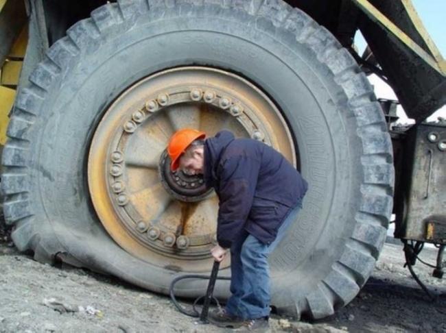 تعمیر ماشین های سنگین