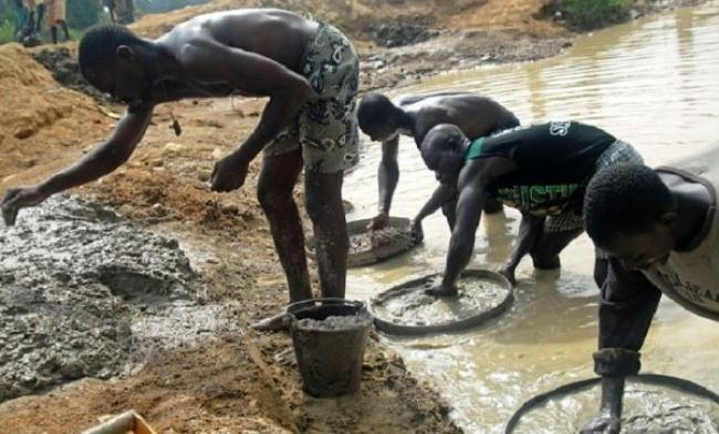 یافتن الماس در آفریقا