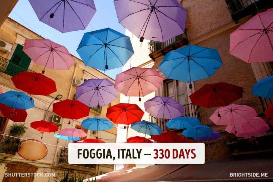 فوجیا - ایتالیا - 330 روز