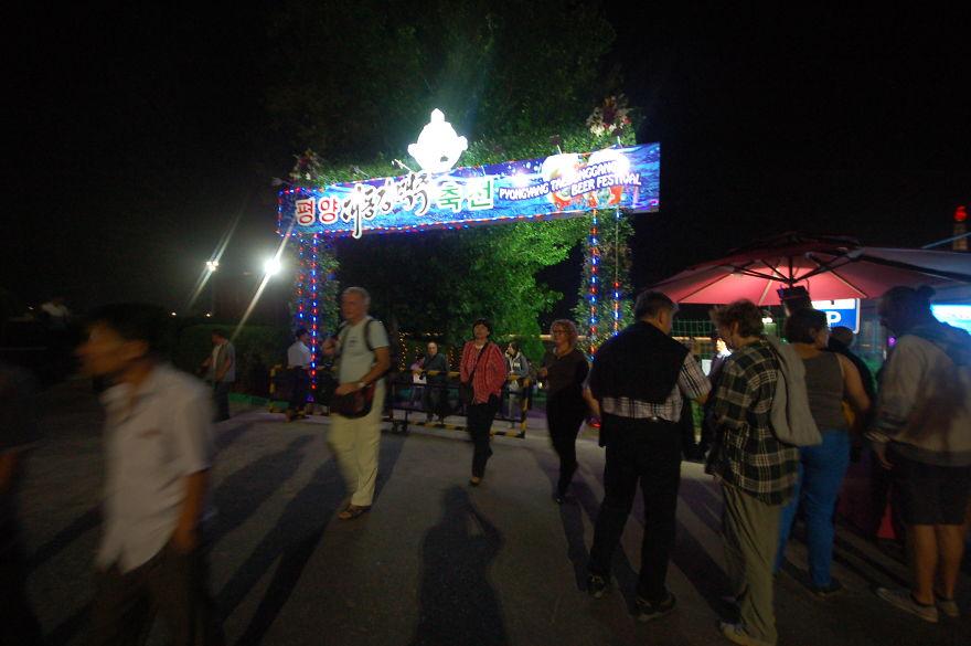 جشنواره ملی آبجو در شهر Pyongyang