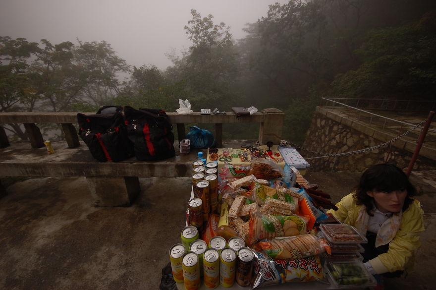 یکی از مناطق گردشگری کره شمالی