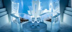 نخستین هتل یخی جهان برای اقامت در تمام فصول سال گشایش یافت