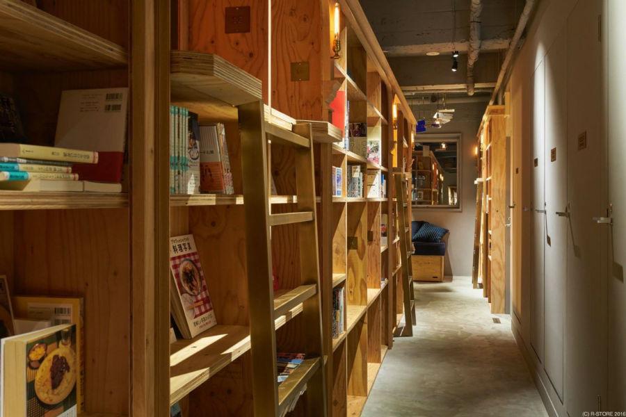 ژاپنی ها به این مکان ها، هتل فروشگاه کتاب می گویند.