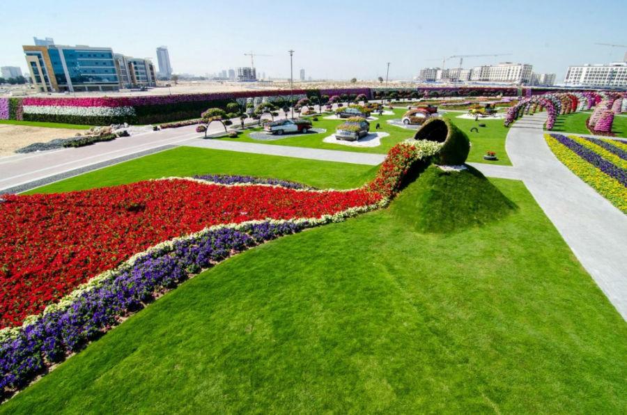 نگاهی به باغ گل دبی که یکی از عجایب دنیا محسوب می شود