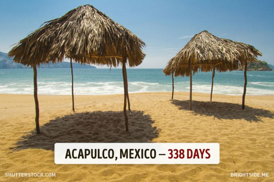 آکاپولکو - مکزیک - 338 روز