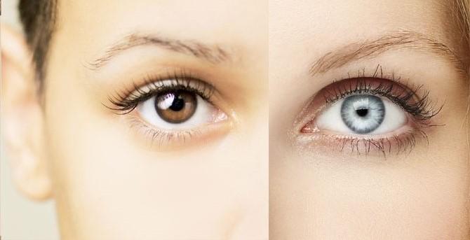 چرا چشم رنگی ها جذاب ترند