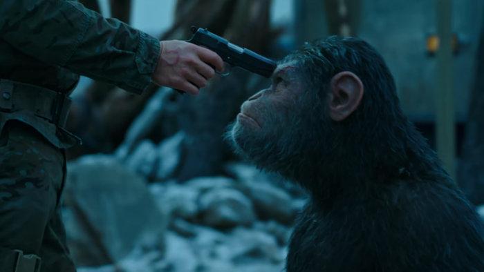 نخستین تریلر فیلم «جنگ برای سیاره میمون ها» منتشر شد [تماشا کنید]