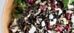 خوشمزه روز: سالاد انار با برنج وحشی [تماشا کنید]