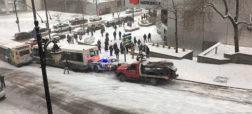 در این ویدیو چند خودرو با یکدیگر تصادف می کنند؟ [تماشا کنید]