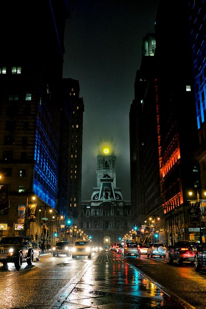 ساختمان شهرداری فیلادلفیا - فیلادلفیا، آمریکا