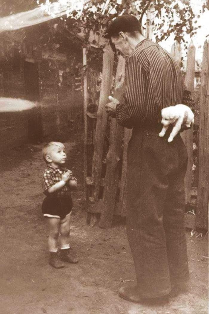 چند ثانیه پیش از خوشحالی زیاد - 1955