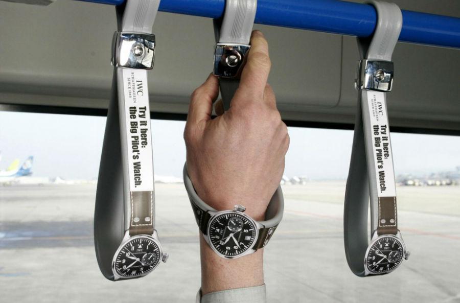 تبلیغ ساعت توسط کمپانی IWC