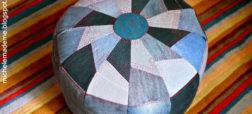 آموزش ساخت مبل کوسنی با استفاده از شلوار جین