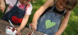 آموزش دوخت پیشبند کودکان با استفاده از شلوار جین