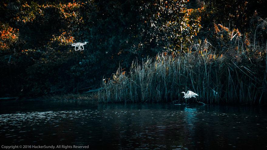 ملاقات با ارواح - نفر دوم در عکاسی حرفه ای با پهپاد