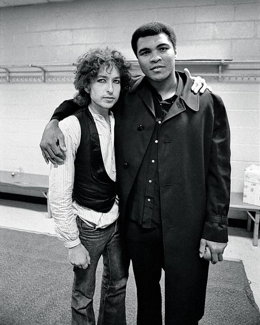 محمدعلی و باب دیلن