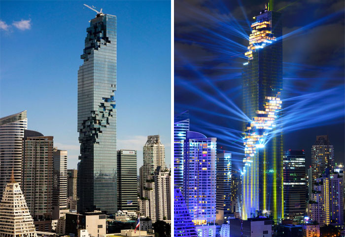 برج ماهاناخون - بانکوک، تایلند