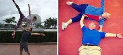 تصاویری که شوخی ها جالب و خنده دار والدین با فرزندان خود را نشان می دهند