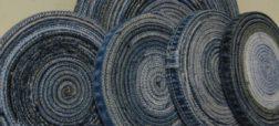آموزش ساخت زیرلیوانی با استفاده از شلوار جین