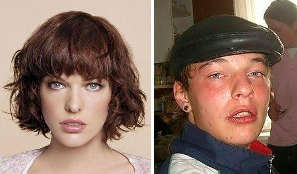 84 w700 1 شباهت چهره افراد معمولی با بازیگران و افراد معروف + تصاویر شباهت به افراد معروف