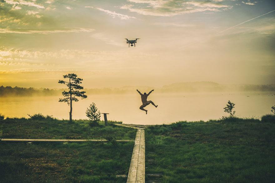 صبح شاد - نفر اول عکاسی حرفه ای در دسته بندی پهپاد