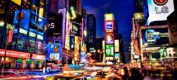 مجموعه تصاویری که تحولات میدان تایمز نیویورک از ۱۸۷۰ تا به امروز را نشان می دهند
