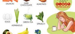 خوراکی هایی که در درمان افسردگی بسیار موثر هستند