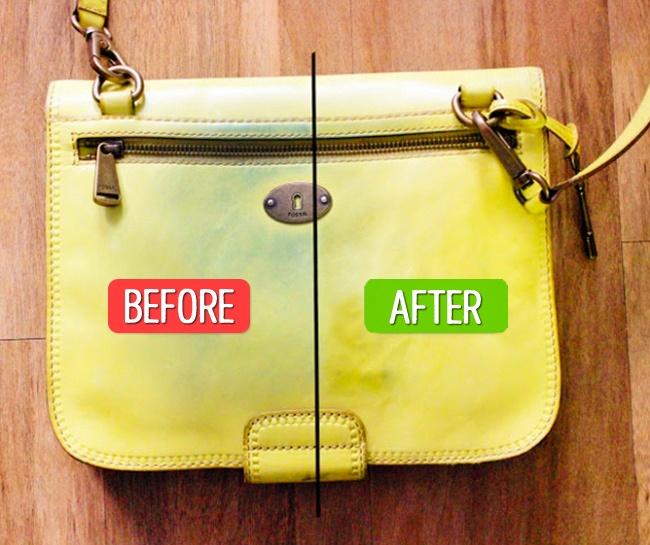 با استفاده از دستمال خیس می توانید سطح کیف را به خوبی پاک و تمیز کنید.