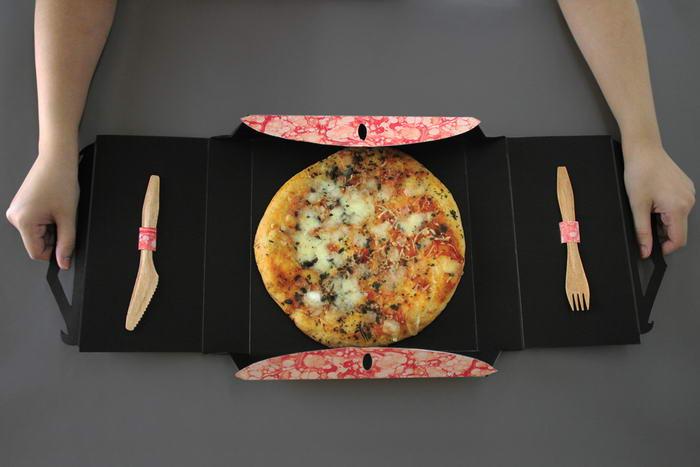 بسته بندی پیتزا