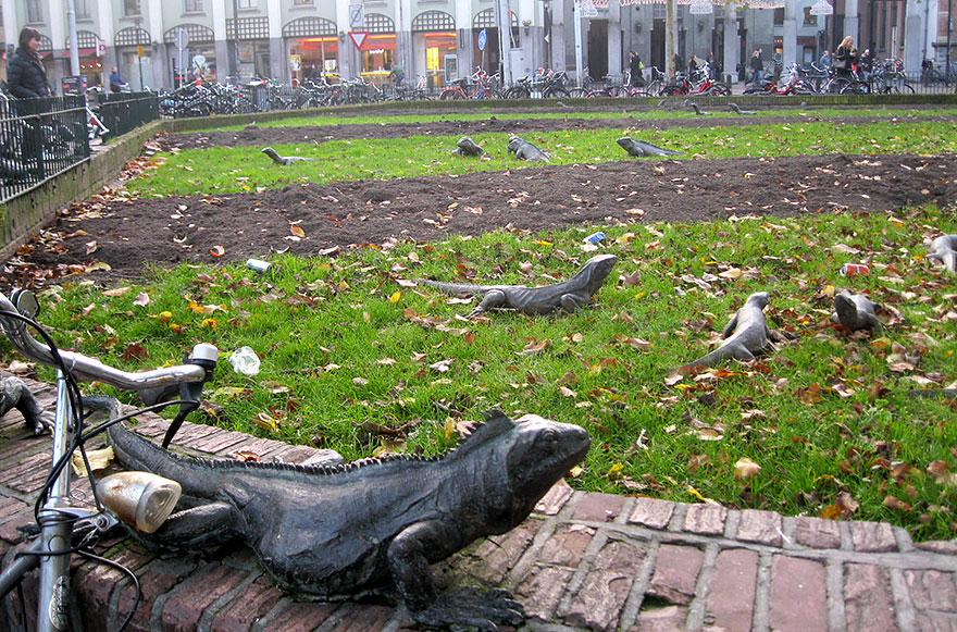پارک ایگوانا - آمستردام - هلند