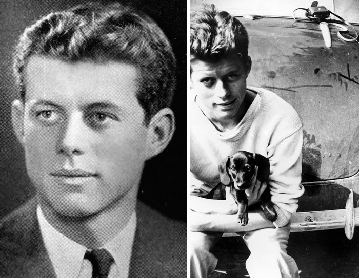 جان اف کندی - 21 و 20 سالگی
