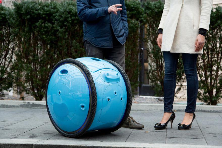 این ربات توانایی ردیابی مکان ها و بازگشت به خانه را دارد