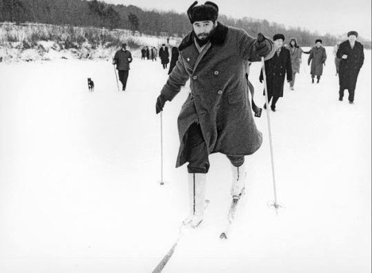 فیدل کاسترو در بندر مورمانسک، شوروی سابق - 1963