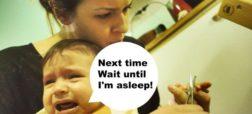63- بهترین زمان برای کوتاه کردن ناخن کودکان، 20 دقیقه پس از خوابیدن آنهاست.