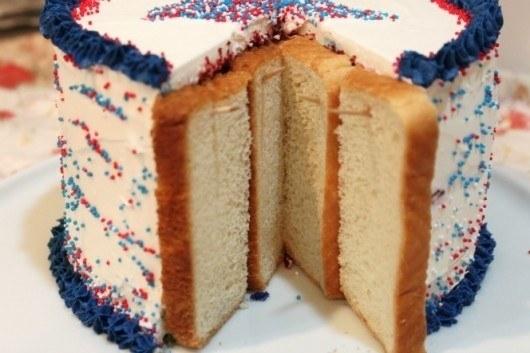 75- برای اینکه بخش داخلی کیک هایی که برش داده اید خشک نشوند، روی آن ها نان تست قرار داده و با خلال دندان آن ها را درجای خود محکم کنید.