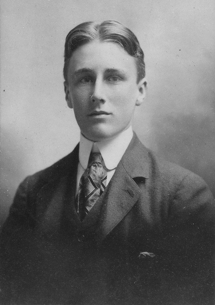 فرانکلین روزولت - 18 سالگی