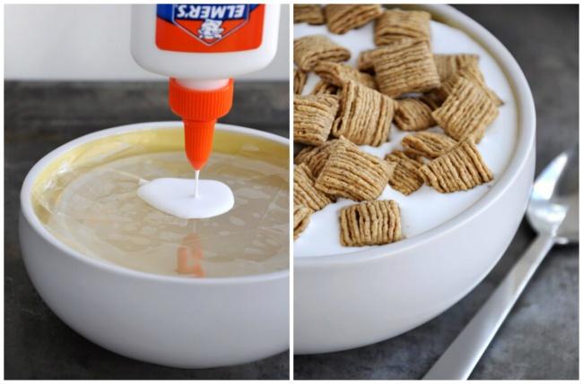 روزیاتو | کلک های تبلیغاتی برای خوراکی ها | غلات در شیر