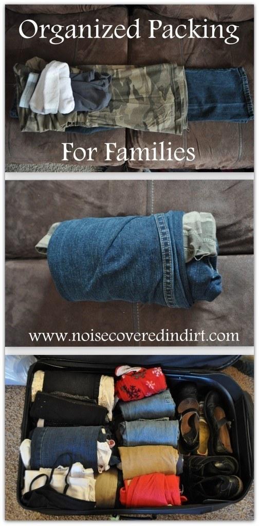 91- لباس های کودک خود را روی هم قرار داده و آن ها را رول کنید تا فضای کمتری در کیف یا چمدان اشغال کنند.