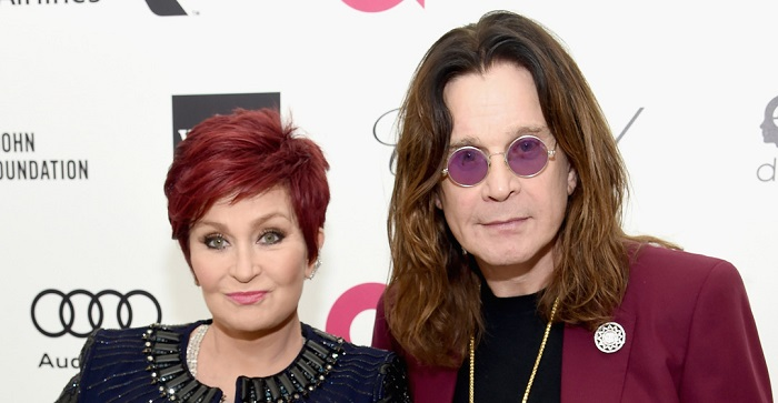 LOS ANGELES, CA - FEBRUARY 22: TV Personality Sharon Osbourne and Musician Ozzie Osbourne attend the 23rd Annual Elton John AIDS Foundation Academy Awards Viewing Party on February 22, 2015 in Los Angeles, California. (Photo by Jamie McCarthy/Getty Images for EJAF)